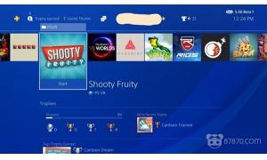 "PS4的5.50版系统更新上线 可以很清楚地看到""PS"
