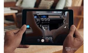 奔驰计划推出AR应用 让您随时随地都可看车