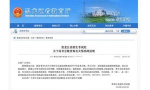 """黑龙江高考查分网站被攻击 又是不法分子搞""""歪"""