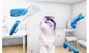在VR里撸猫!《Kitten'd》上架Steam