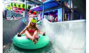 世界首个VR水上滑梯项目诞生 三月吸引三万多人