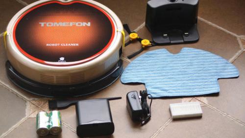 清扫效果立竿见影 行业典范斐纳TF-880S智能扫地机器人评测