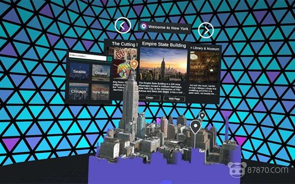 微软推出MR版旅游应用《Outings》 足不出户在VR中游览名胜古迹