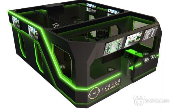 奖金池高达50000美元!Virtuix推出VR竞技场 支持多名玩家同时体验