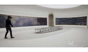 巴黎橘园美术馆将莫奈名画《睡莲》变成了VR体验