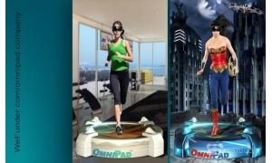 VR跑步机OmniPad获得众筹1708万美金 离终极目标还很