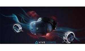 HTC发Vive Cosmos头显视频:6摄像头追踪定位