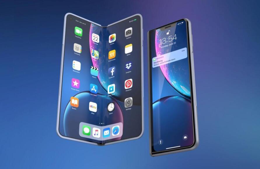 苹果或2023年推出折叠iPhone 或采用三星方案命名