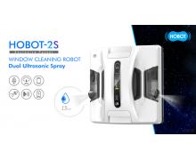 玻妞擦窗机器人2021新品震撼上市 HOBOT-2S自动喷水