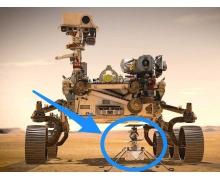 NASA 准备在火星上试飞微型直升机