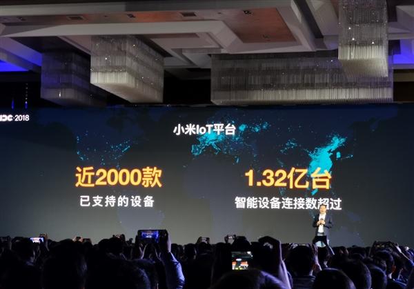 小米 IoT 平台已接入 3.51 亿台智能硬件 相关收入同比增长 40.5%