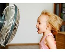 夏天把空调和电风扇一起开,这种做法 小鸡宝宝