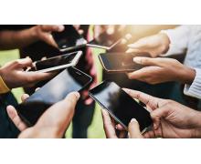 All in 5G 之下,全球 4G 手机出货占比